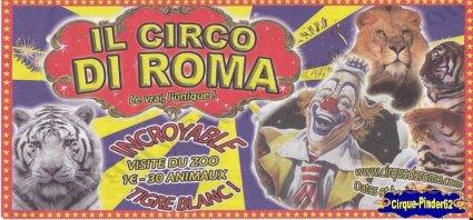 Flyer du Cirque de Rome-2010 (n°60)