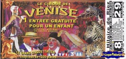 Flyer du Cirque de Venise (n°46)