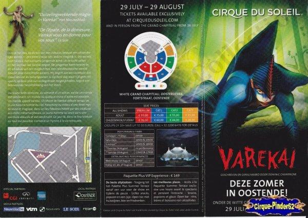 Flyer du Cirque du Soleil-2010 (n°17)