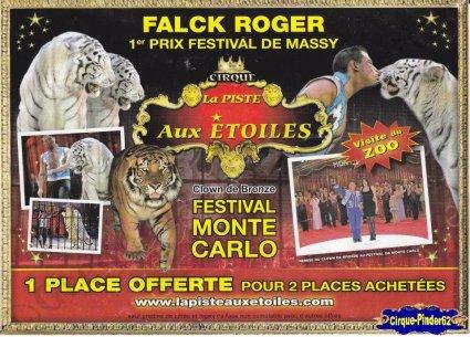 Flyer du Cirque La Piste aux Etoiles-2009 (n°5)