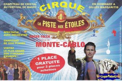 Flyer du Cirque La Piste aux Etoiles-2011 (n°100)