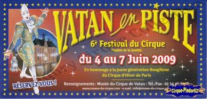 Flyer du Festival du Cirque de Vatan-2009 (n°344)