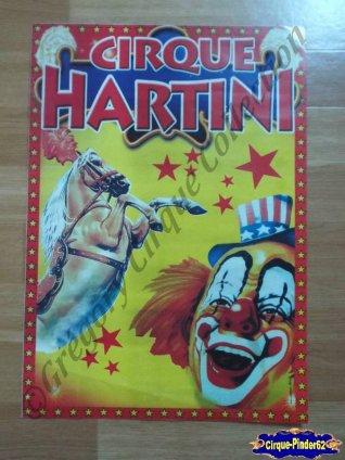 Affiche magasins du Cirque Hartini (n°114)