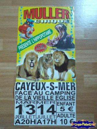 Affiche magasins du Cirque Muller (n°148)