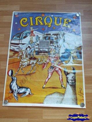 Affiche murale du Cirque Melvin (n°57)