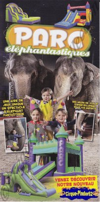 Flyer du Parc/Cirque Elephantastique (n°151)
