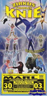 Flyer du Cirque Knie (Charles)-2009 (n°163)