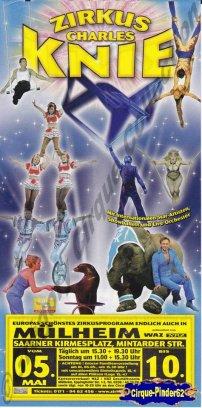 Flyer du Cirque Knie (Charles)2009 (n°164)