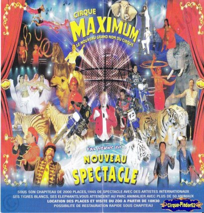 Flyer du Cirque Maximum-2009 (n°155)