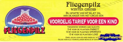 Flyer du Cirque Fliegenpilz (n°180)