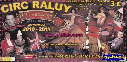 Flyer du Cirque Raluy-2011 (n°195)