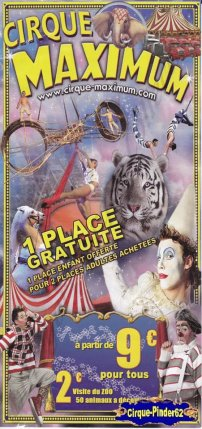 Flyer du Cirque Maximum-2011 (n°227)