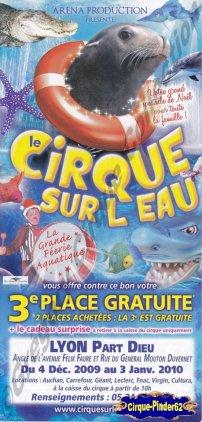 Flyer du Grand Cirque sur l'Eau-2010 (n°228)