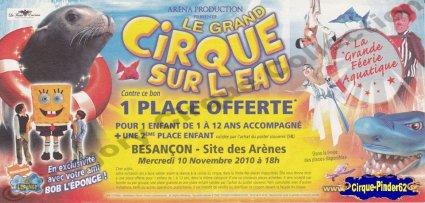Flyer du Grand Cirque sur l'Eau-2010 (n°259)