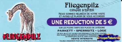 Flyer du Cirque Fliegenpilz (n°325)