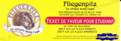 Flyer du Cirque Fliegenpilz-199- (n°324)