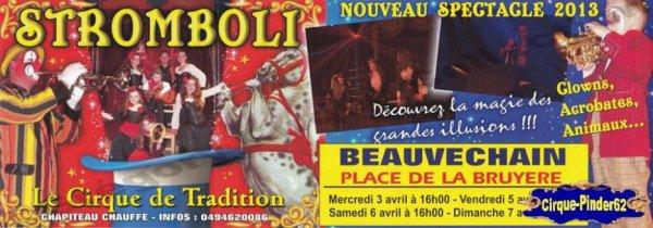 Flyer du Cirque Stromboli-2013 (n°369)