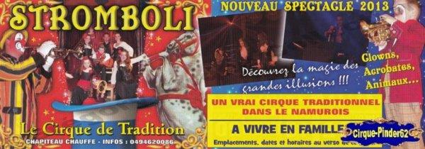 Flyer du Cirque Stromboli-2013 (n°367)