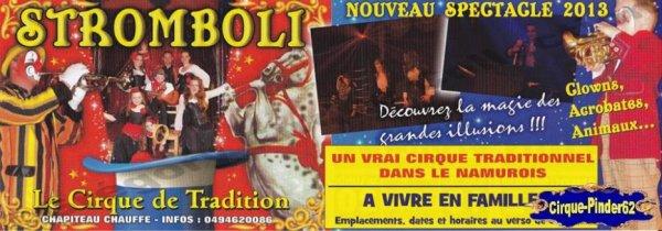 Flyer du Cirque Stromboli-2013 (n°366)