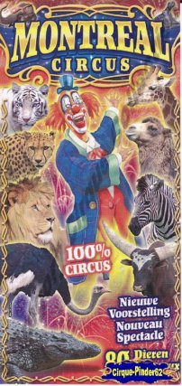 Flyer du Montreal Circus (n°376)