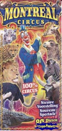 Flyer du Montreal Circus (n°376)