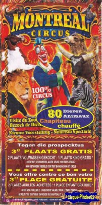 Flyer du Montreal Circus (n°375)
