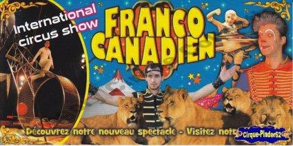 Flyer du Cirque Franco Canadien-2012 (n°389)