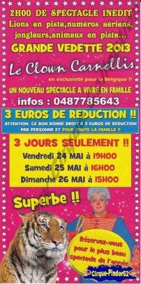 Flyer du Festival Circus Show-2013 (n°391)