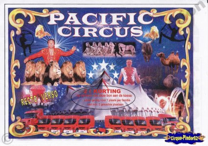 Flyer du Pacific Circus (n°397)