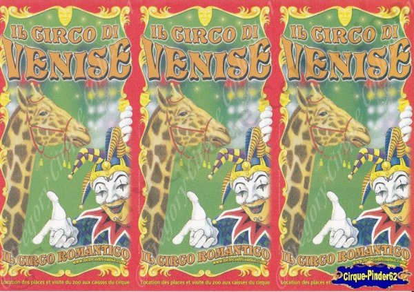 Flyer du Cirque de Venise-2009 (n°435)