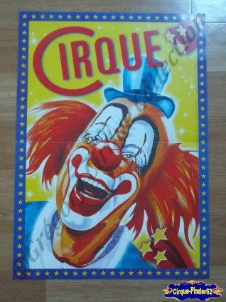 Affiche magasins du CIRQUE (n°234)