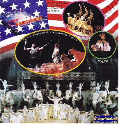 Flyer de l'American Circus-2003 (n°572)