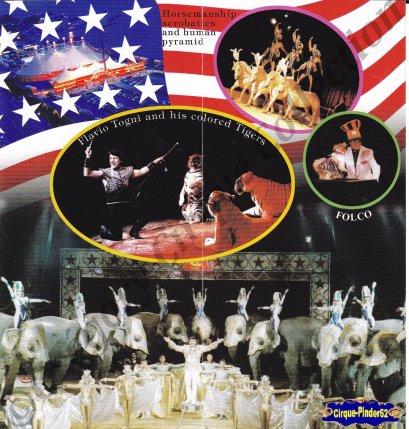 Flyer de l'American Circus-2003 (n°573)