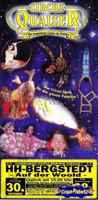 Flyer du Circus Quaiser (n°503)