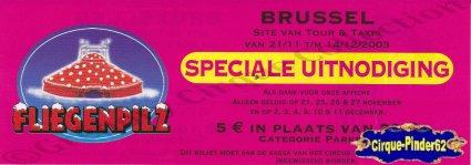 Flyer du Cirque Fliegenpilz-2003 (n°540)