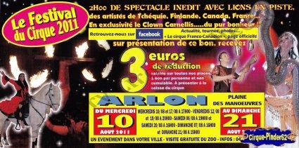 Flyer du Cirque Franco Canadien-2011 (n°510)