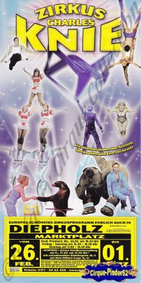 Flyer du Cirque Knie (Charles)-2009 (n°514)