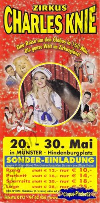 Flyer du Cirque Knie (Charles)-2010 (n°513)