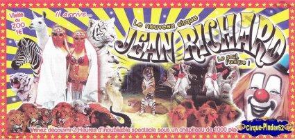Flyer Le Nouveau Cirque Jean Richard- (n°485)