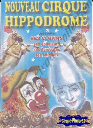Flyer du Nouveau Cirque Hippodrome (n°488)