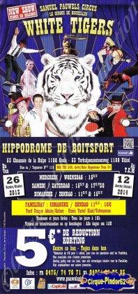 Flyer du Cirque Pauwels (Samuel Pauwels Circus)-2013/2014 (n°455)