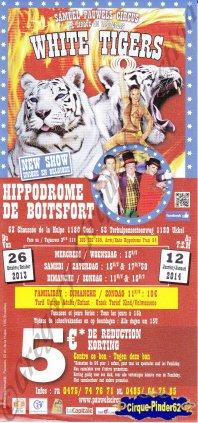 Flyer du Cirque Pauwels (Samuel Pauwels Circus)-2013/2014 (n°564)