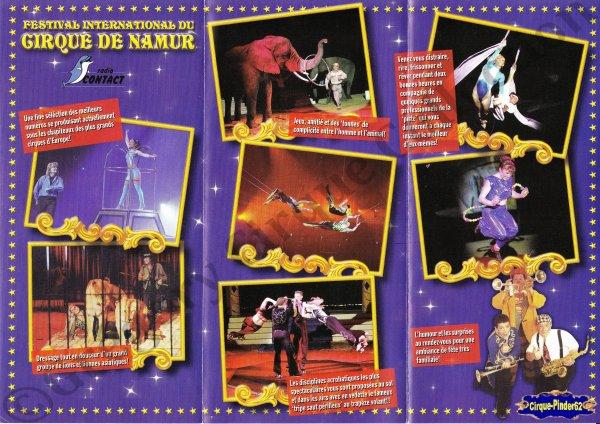 Flyer du Festival du Cirque de Namur-2005/2006 (n°546)