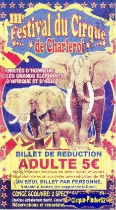 Flyer du Festival du Cirque de Charleroi-2010 (n°533)