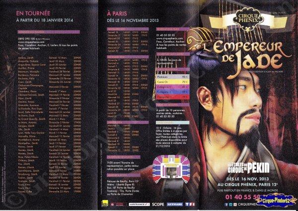 Flyer du Cirque Phénix-2013/2014 (n°577)