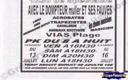 Flyer du Nouveau Cirque Hippodrome (n°333)