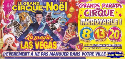 Flyer de La Magie de Las Vegas-2013 (n°580)