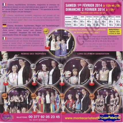 Flyer du Festival New Generation-2014 (n°585)