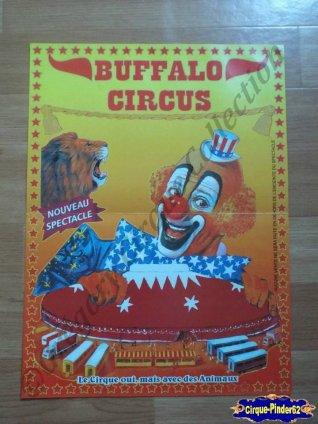 Affiche magasin du Buffalo Circus (n°239)