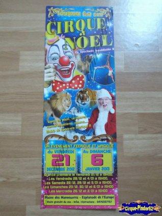 Affiche magasin du Cirque de Noël (Cirque de Noël de Tournai)-2012/2013 (n°250)
